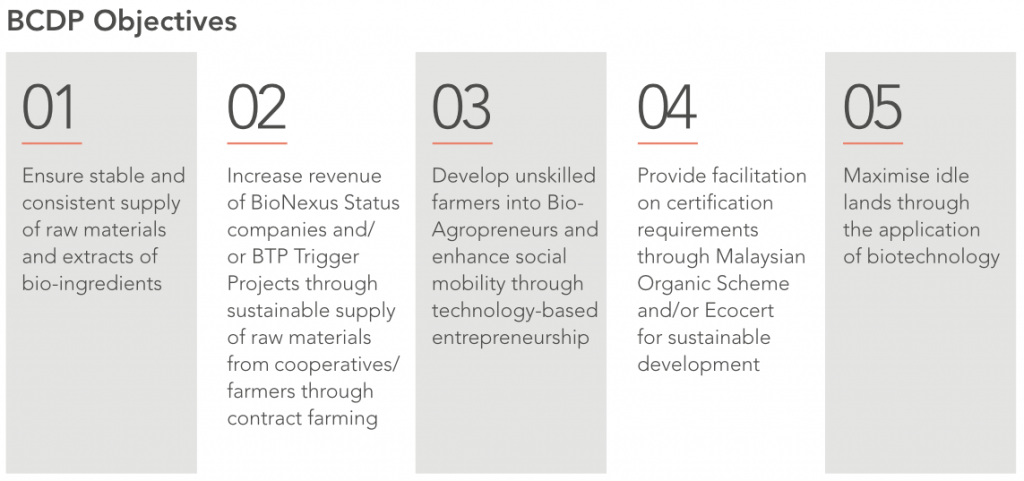 BCDP Objectives