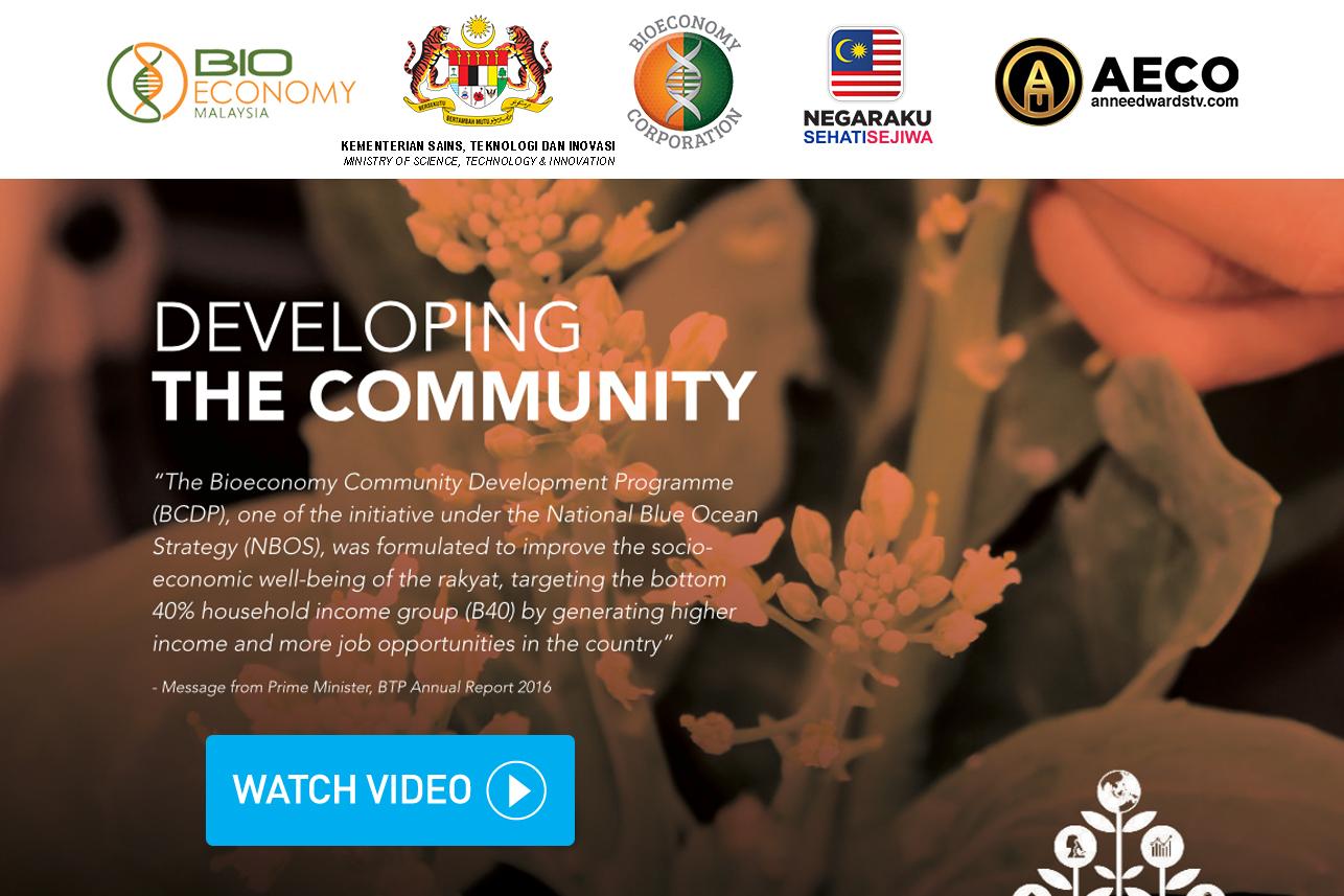 bioeconomy community development programme aeco