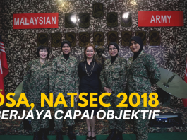 DSA, NATSEC 2018 Berjaya Capai Objektif