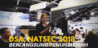 DSA & NATSEC 2018 berlangsung penuh meriah