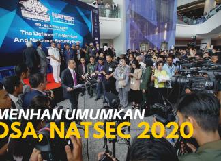 MENHAN umumkan DSA, NATSEC 2020