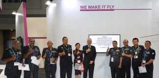 Thumbs up to the Royal Malaysian Police for 25 years of flying