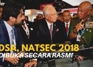 DSA, NATSAC 2018 dibuka secara rasmi