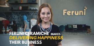 Feruni Ceramiche makes delivering happiness their business