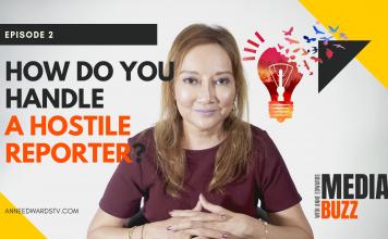 how do you handle a hostile reporter