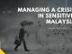 managing crisis in malaysia